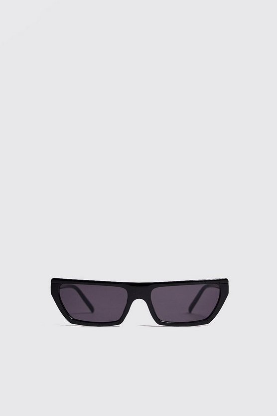Black Micro Matrix Sunglasses