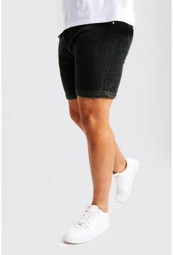 Short de pana Slim Fit Big And Tall, Verde salvia, Hombre