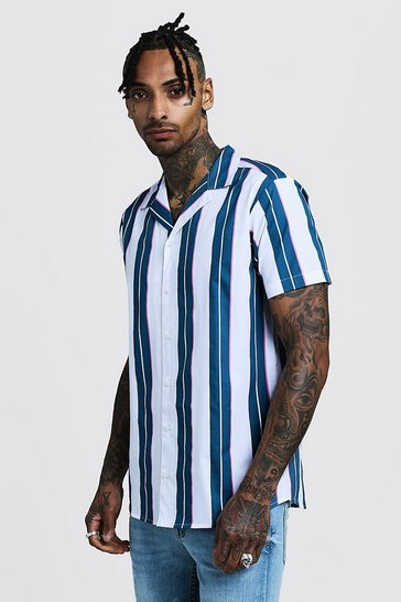 a2098b48 Mens Shirts | Shop Shirts For Men | boohoo