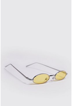 Mens Yellow Micro Colour Pop Sunglasses
