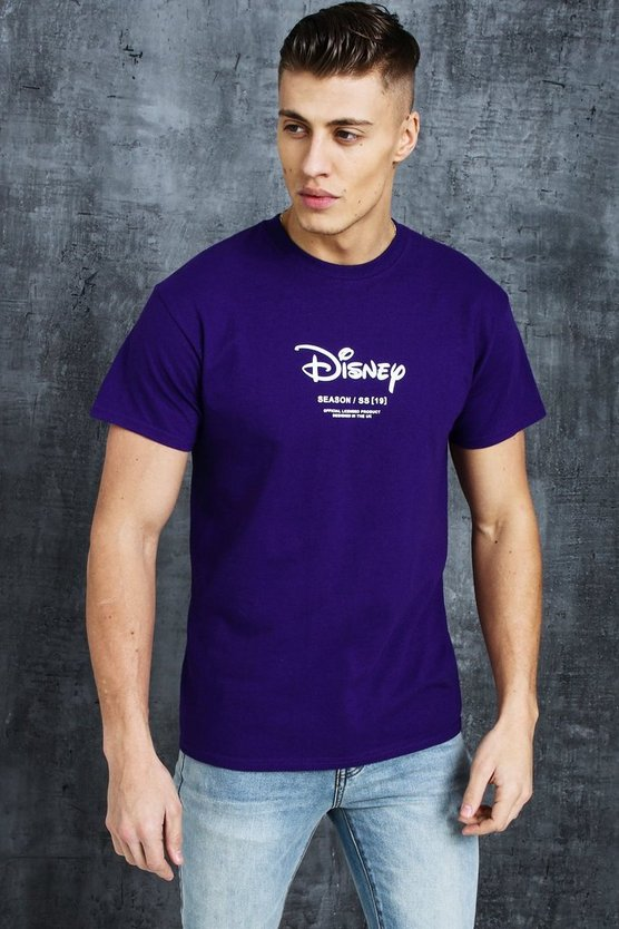 Футболка Disney SS19 Placement с принтом, Purple, МУЖСКОЕ