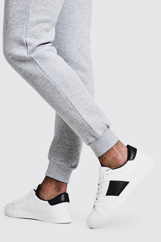 Sneaker mit seitlichen Streifen   Boohoo
