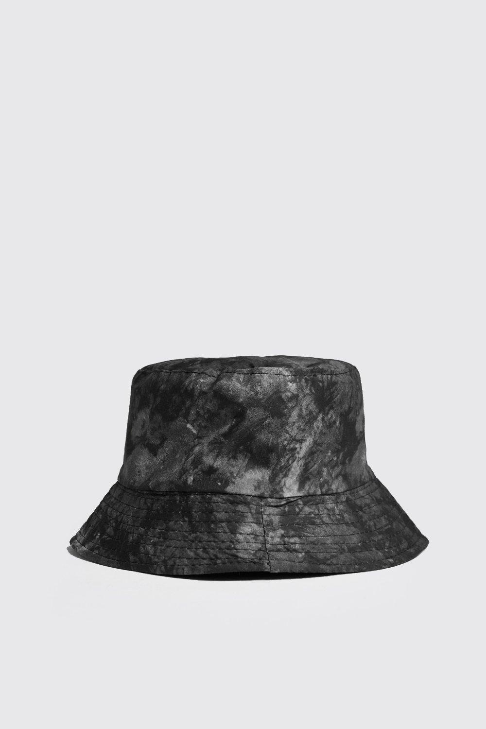 Bleach Tie Dye Bucket Hat Boohooman