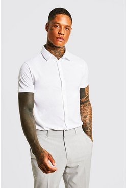 Herr White Short Sleeve Jersey Shirt