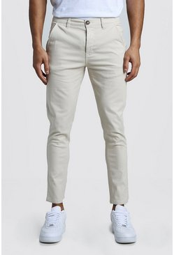 Mens Stone Slim Fit Rigid Chino Pants