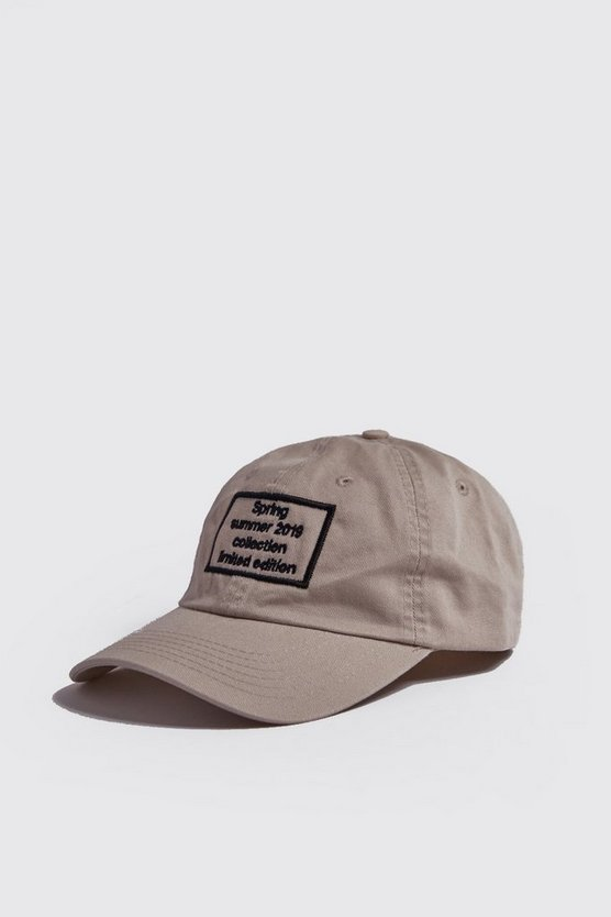 Mens Stone Spring Summer 2019 Embroidered Cap