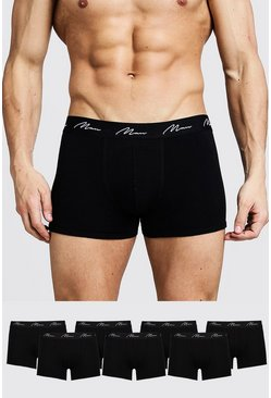 "7er-Pack ""MAN""-Shorts, Schwarz"