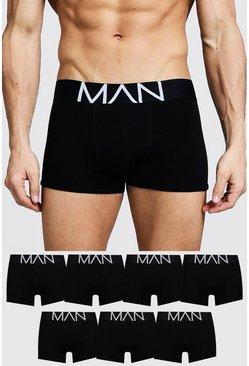 Black MAN Boxerkalsonger (7-pack)