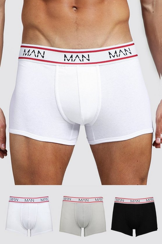 Multi 3 Pack MAN Sport Mixed Trunks