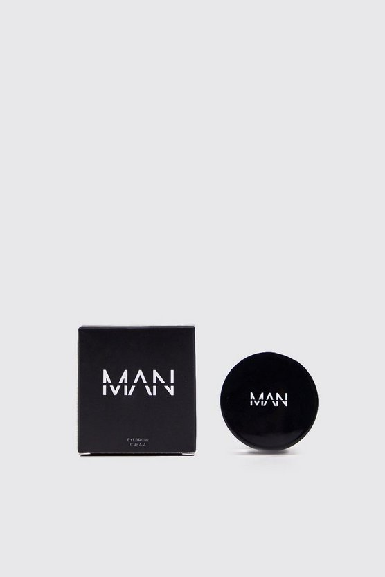 Mens Dark MAN Eyebrow Cream With Brush