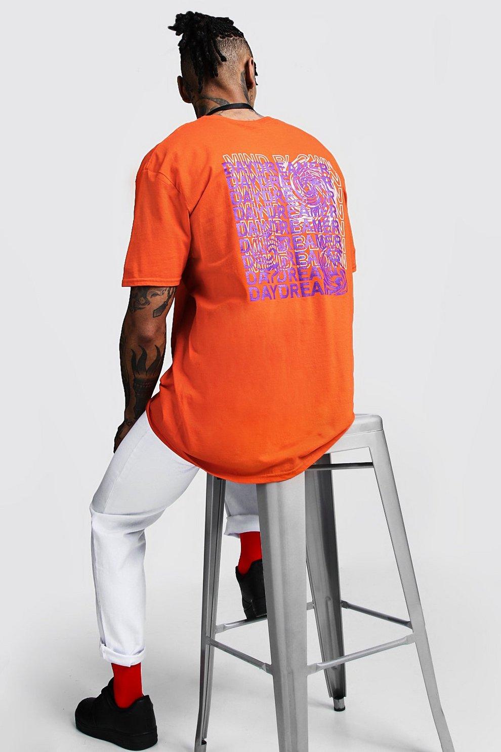 La Ancha En Camiseta De Con Manga Corta Estampado Espalda 4jARc5L3q