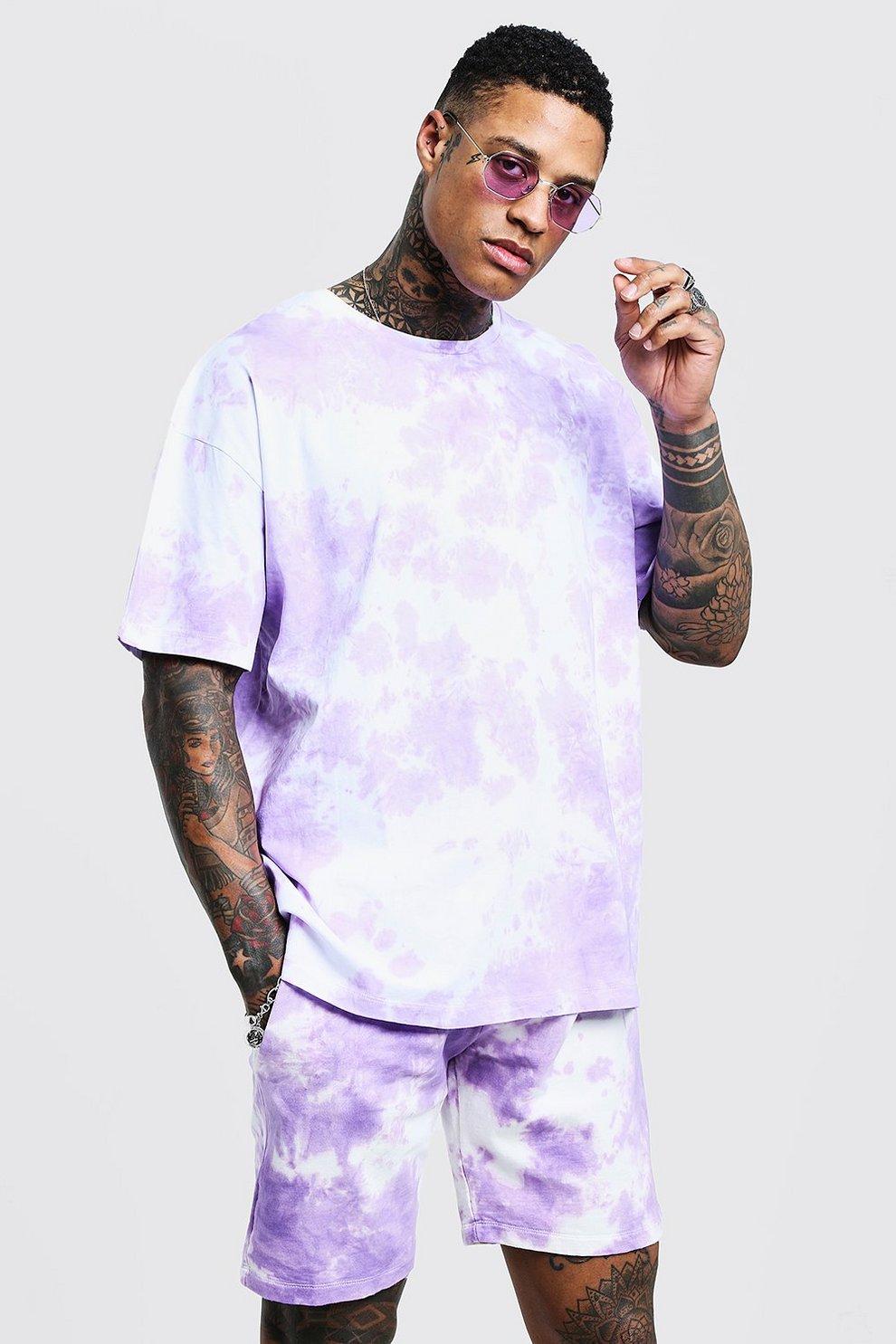 How do you set a tie dye shirt