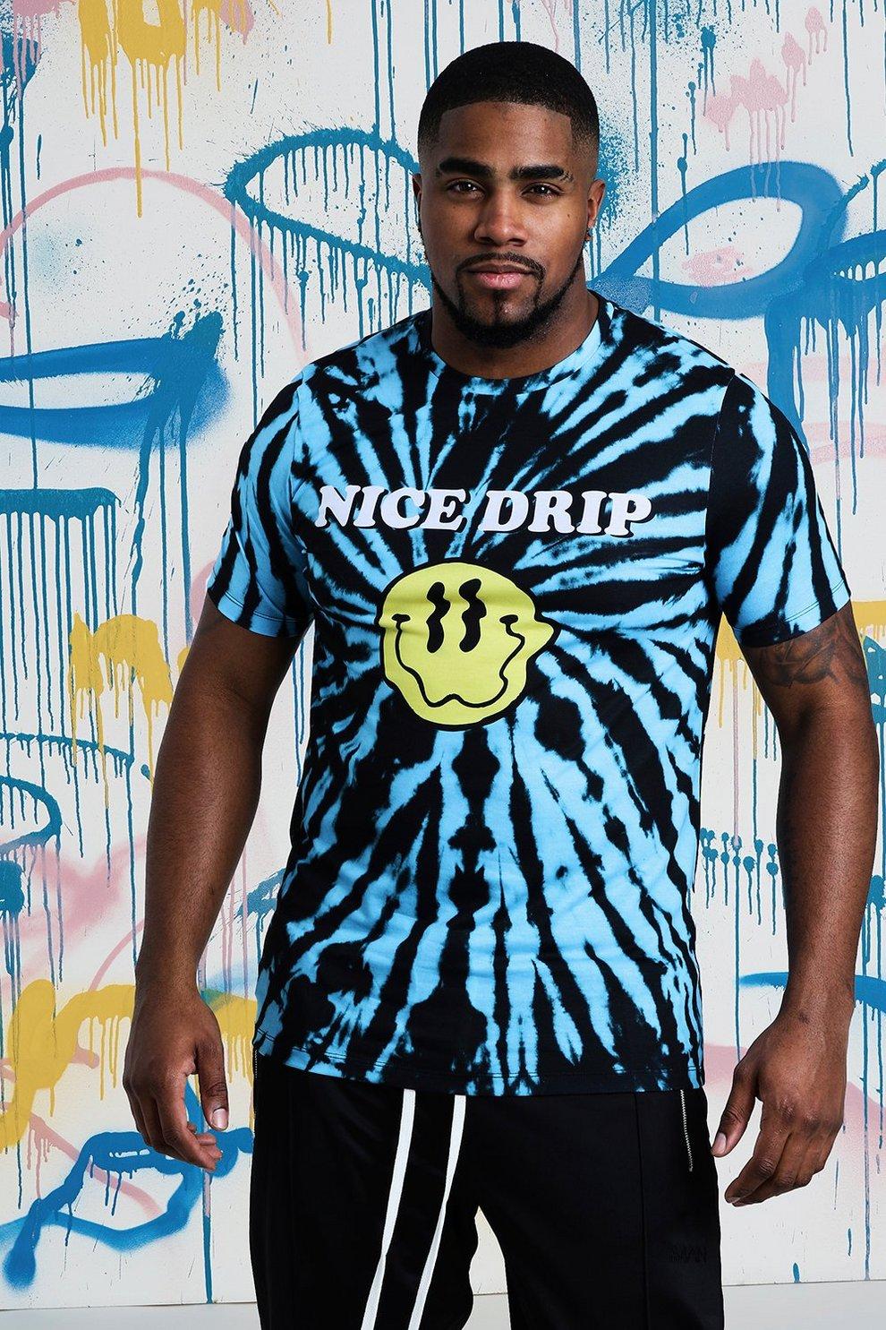 1207e47629d Big   Tall Quavo Nice Drip Tie Dye T-Shirt