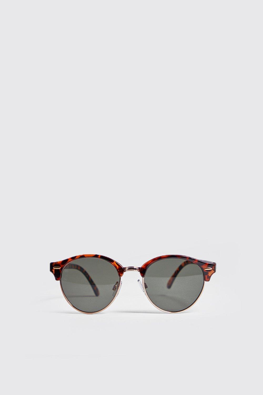 Tortoise Frame Retro Sunglasses