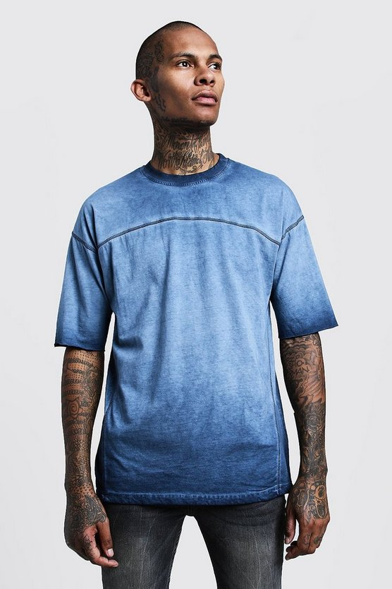 Loose Fit Washed Dyed Jersey Tee