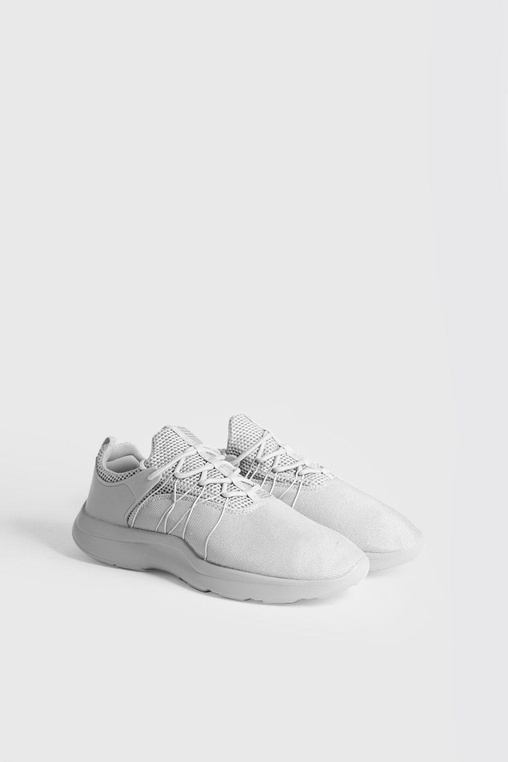 Ware Sole Mesh Trainers