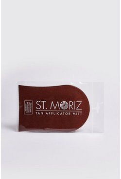 Mens Brown St Moriz Tanning Mitt