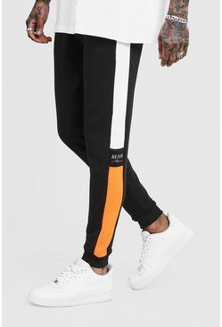 Small Fox Black/Orange Joggers Anzüge