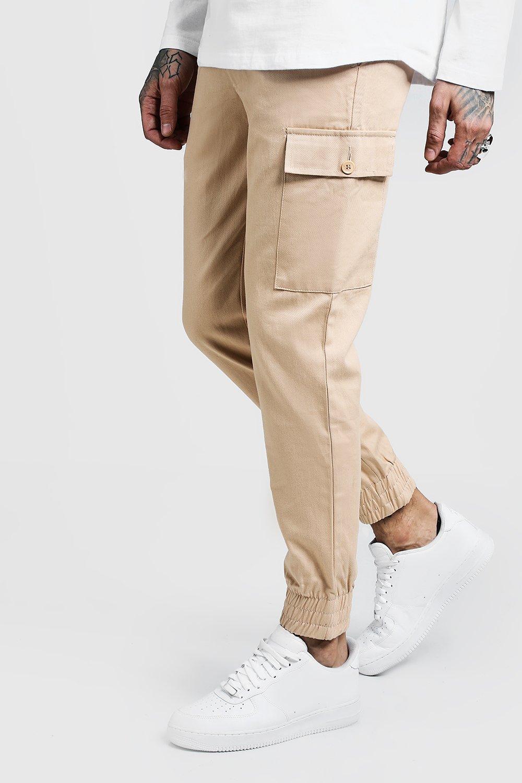 Cuffed Cargo Trouser In Slim Fit