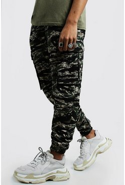 Mens Khaki Digital Camo Utility Trouser
