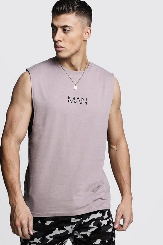 Mens Bark Original MAN Drop Armhole Tank