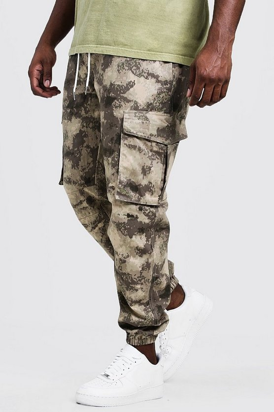 Sand Big & Tall Skinny Fit Utility Jogger