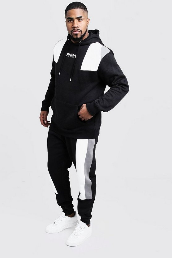 Big & Tall Colour Block Tracksuit