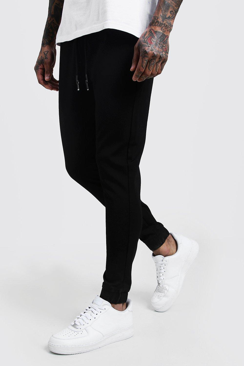 Slim Fit Panel Detail Jersey Joggers