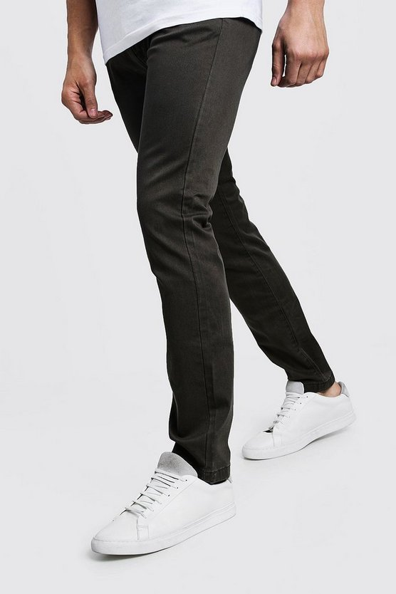 Pantalon chino stretch coupe Slim