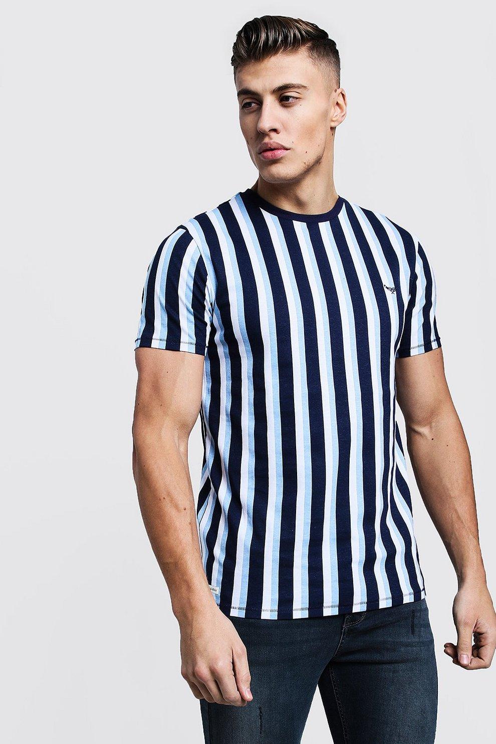 T Verticales T Rayures À Shirt gf6b7vYy