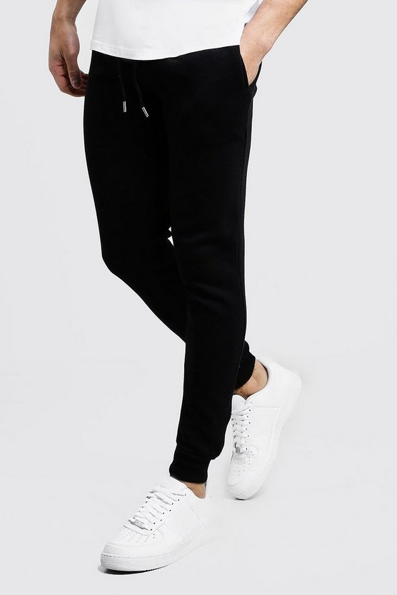 Skinny Fit Basic Fleece Jogger
