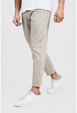 Pantalon court chino coupe slim, Roche, Homme