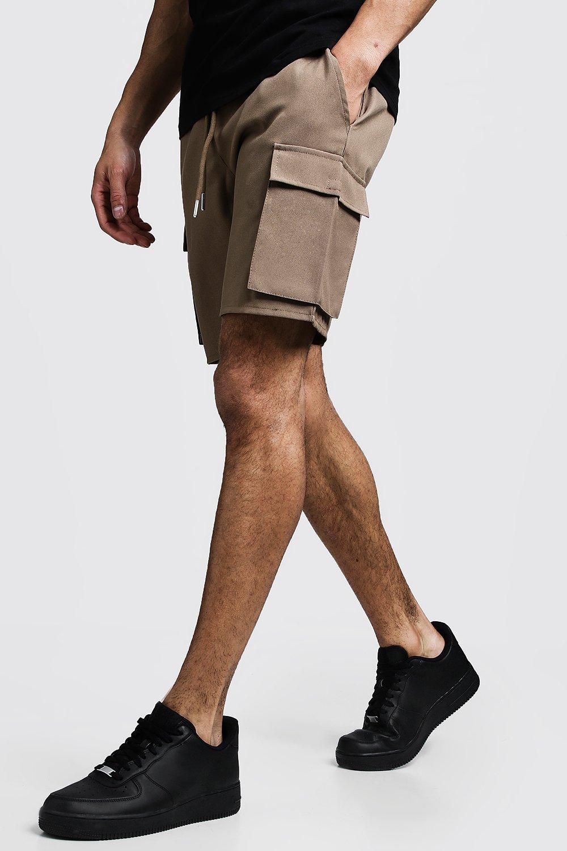 Cargo Shorts With Drawstring Waistband