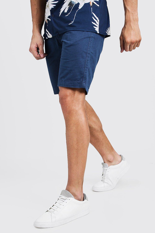 Slim Fit Cotton Chino Shorts
