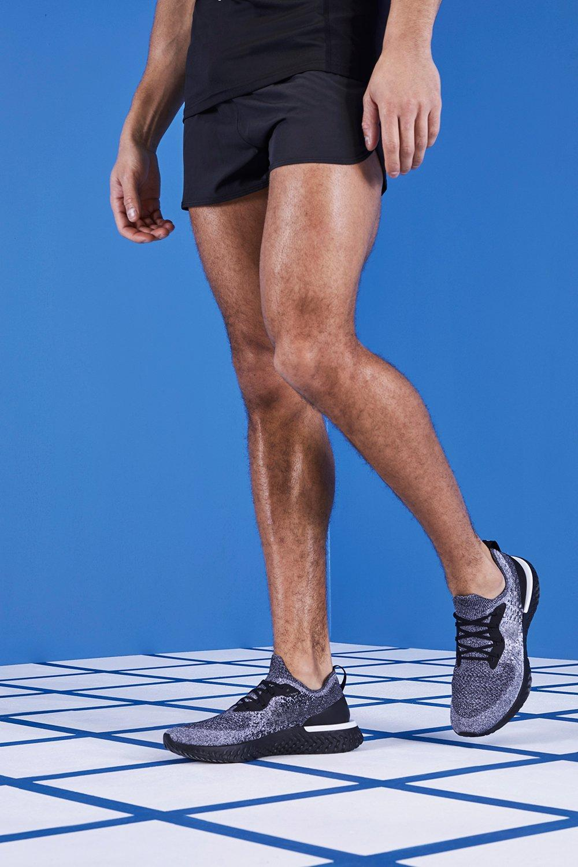 MAN Gym Reflective Runner Shorts