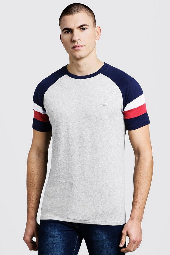 Raglan Colour Block T-Shirt
