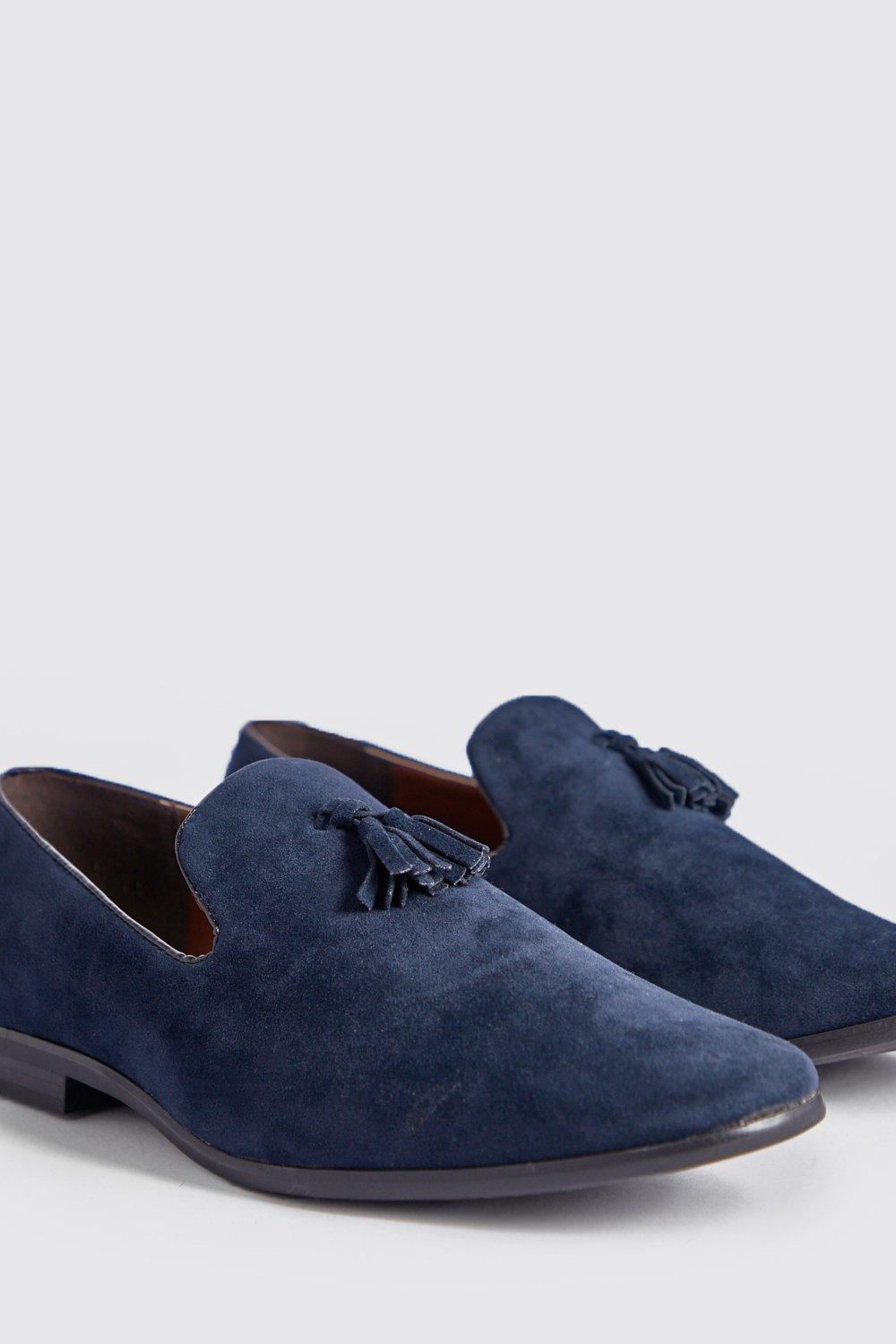 Suede Look Tassel Loafer