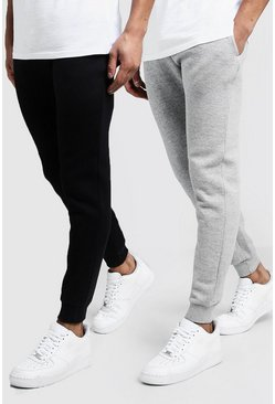 Lot de 2 joggings Skinny, Multi, Homme