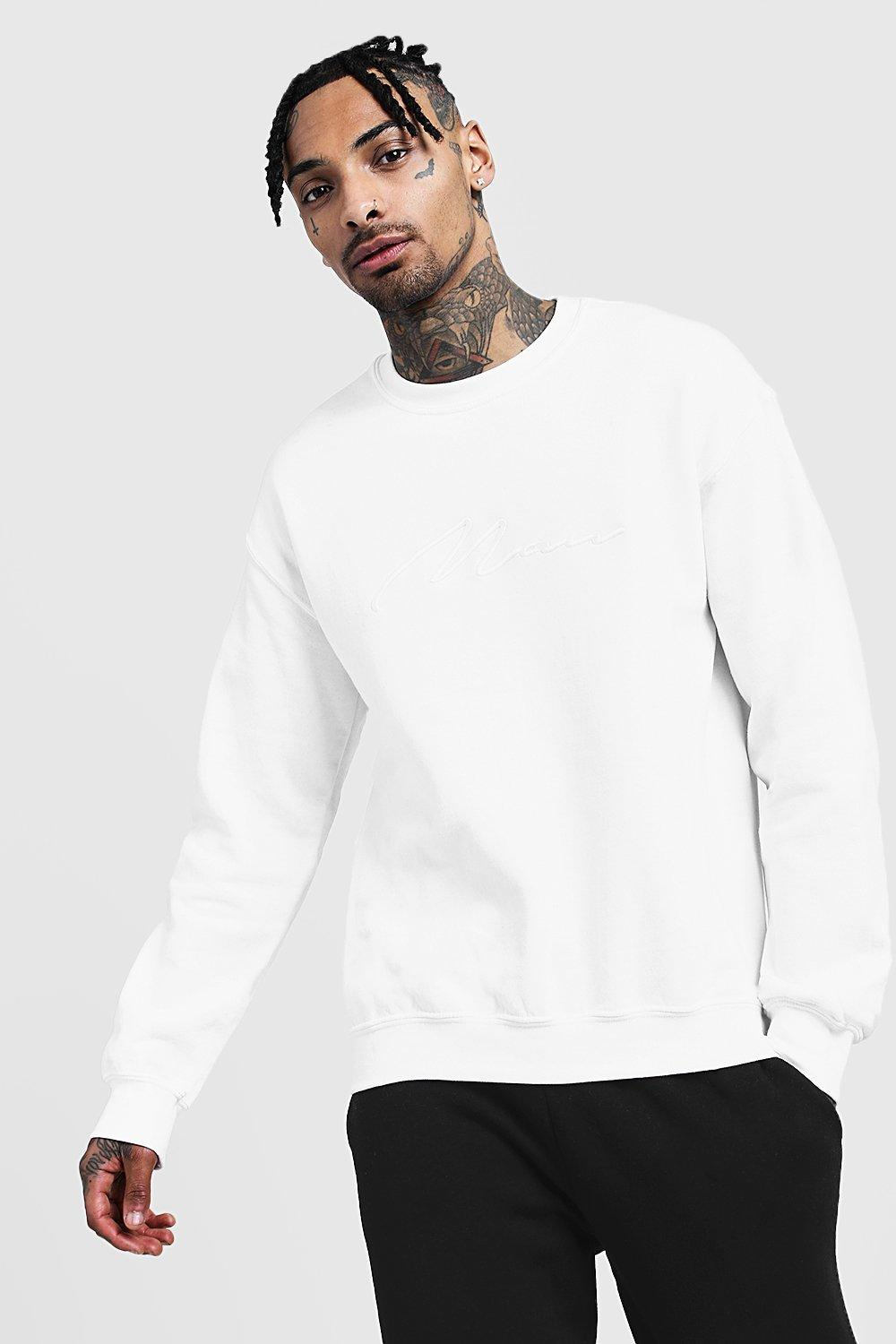 3D MAN Signature Embroidered Sweater