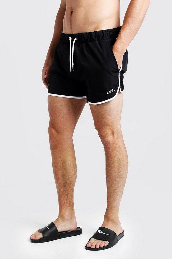 Black Original MAN Runner Swim Short