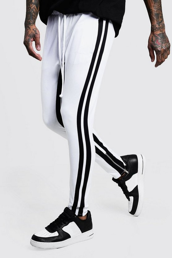 Skinny Fit MAN Signature Tricot Joggers