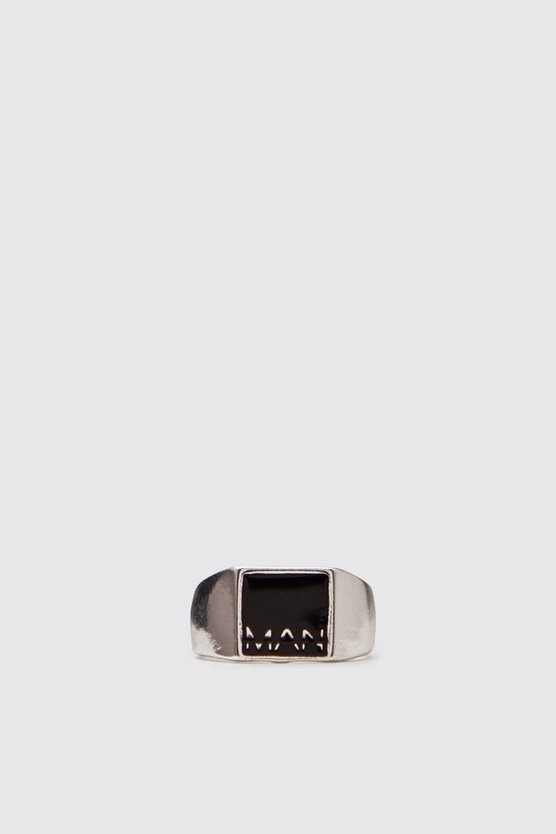 MAN Emboss Signet Ring