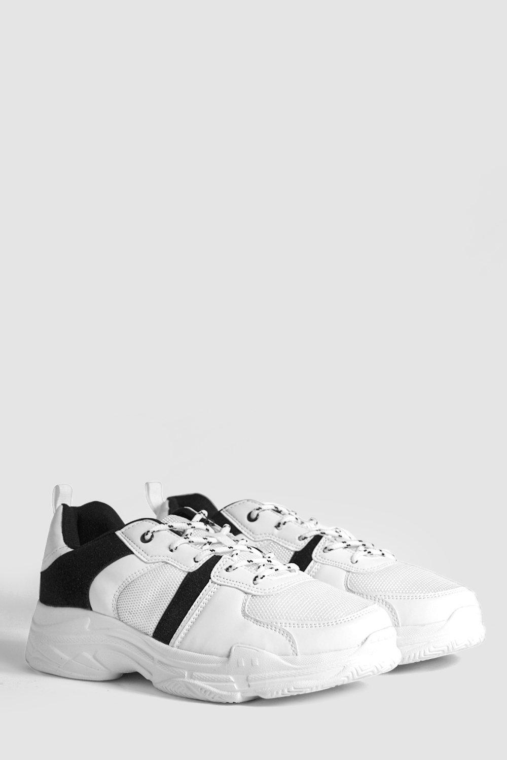 Contrast Detail Chunky Trainers