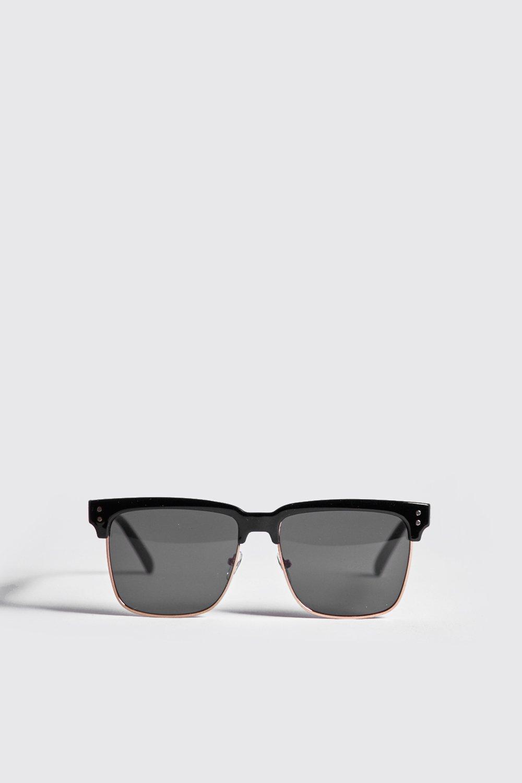 Square Lens Retro Sunglasses