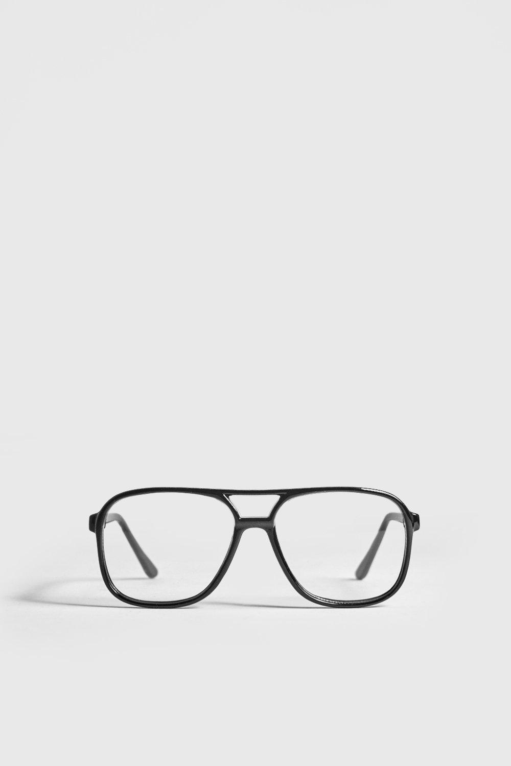Clear Lens Geek Fashion Glasses