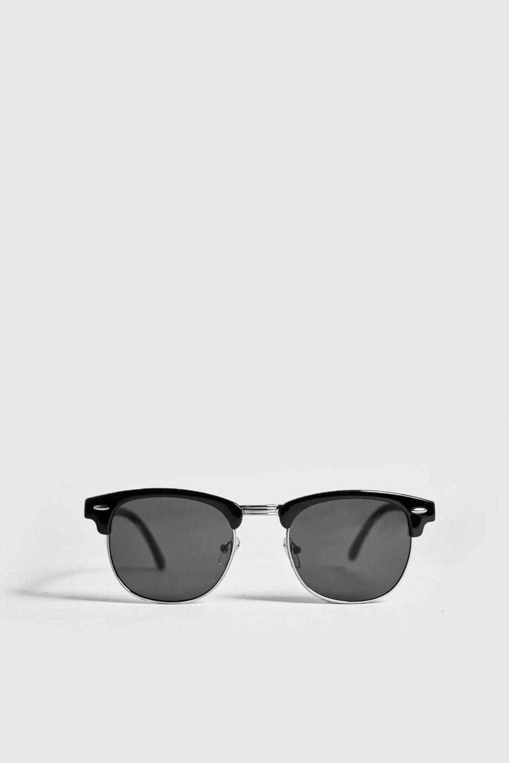 Retro Silver Frame Sunglasses