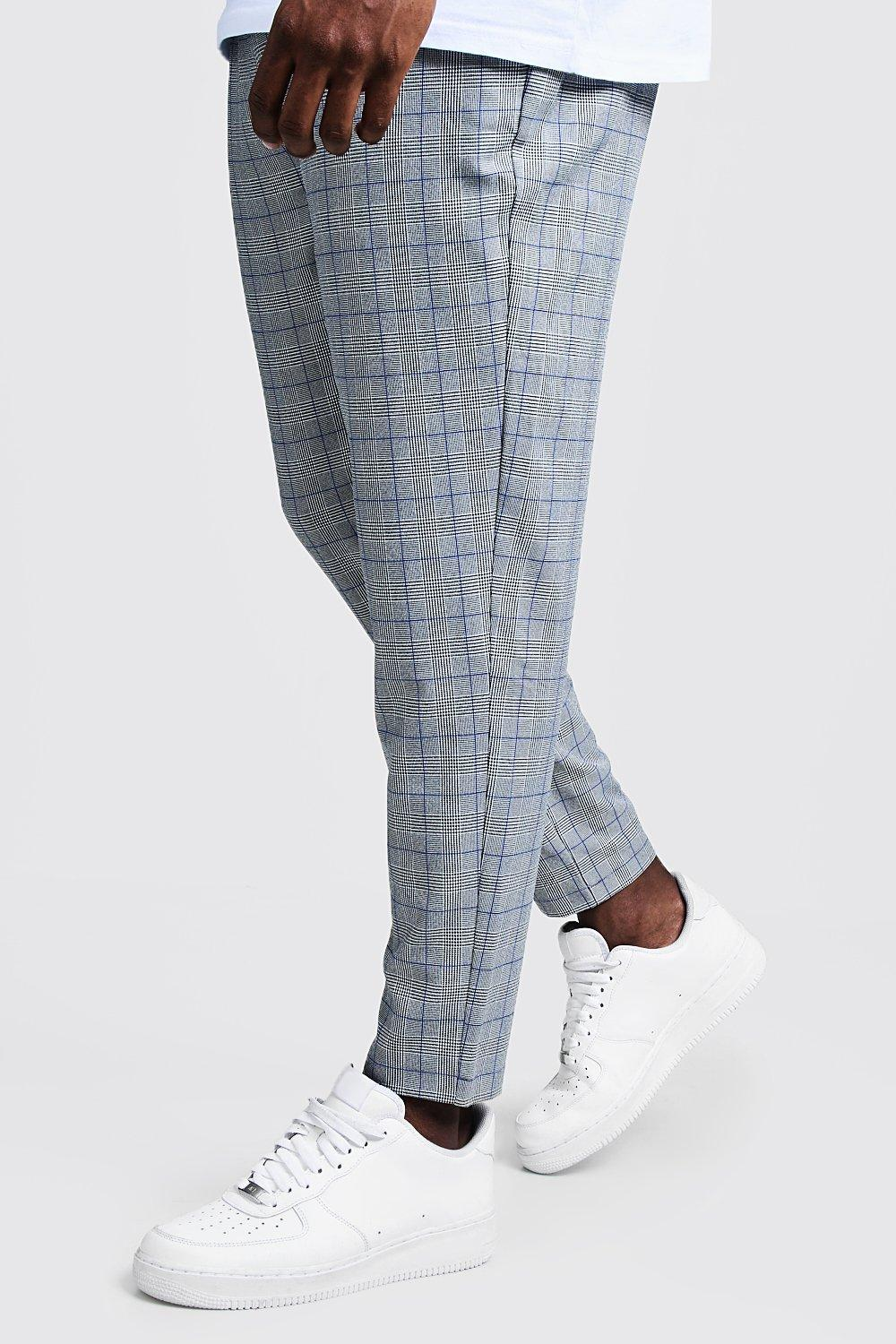 Big & Tall Ice Cream Check Jogger Trouser
