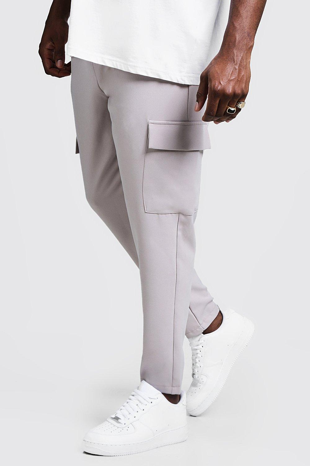 Big & Tall Utility Pocket Smart Jogger Trouser