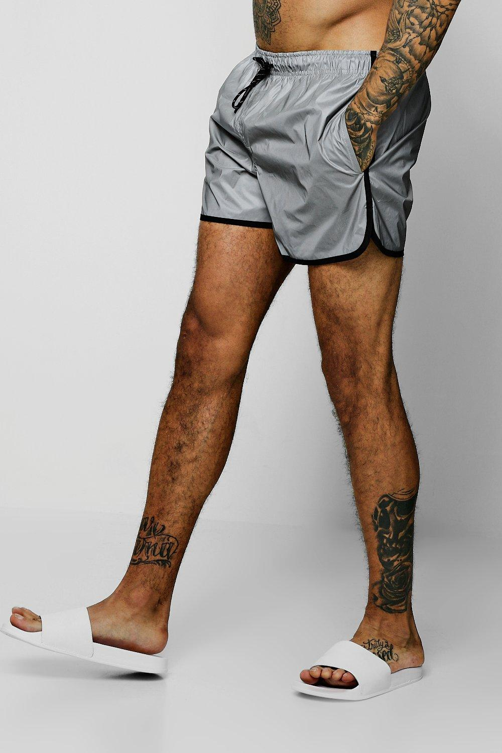 Reflective Runner Swim Short