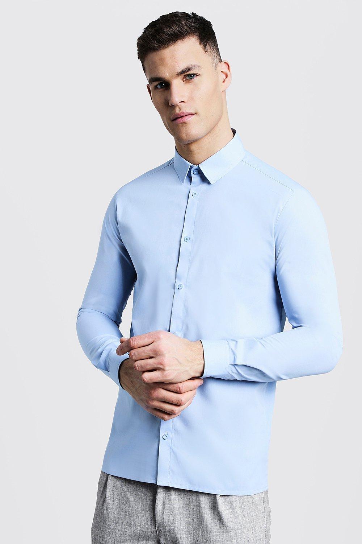 Slim Fit Long Sleeve Smart Shirt